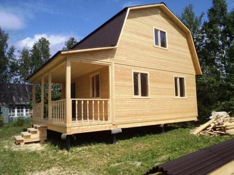 Строительство дачных домов - фото