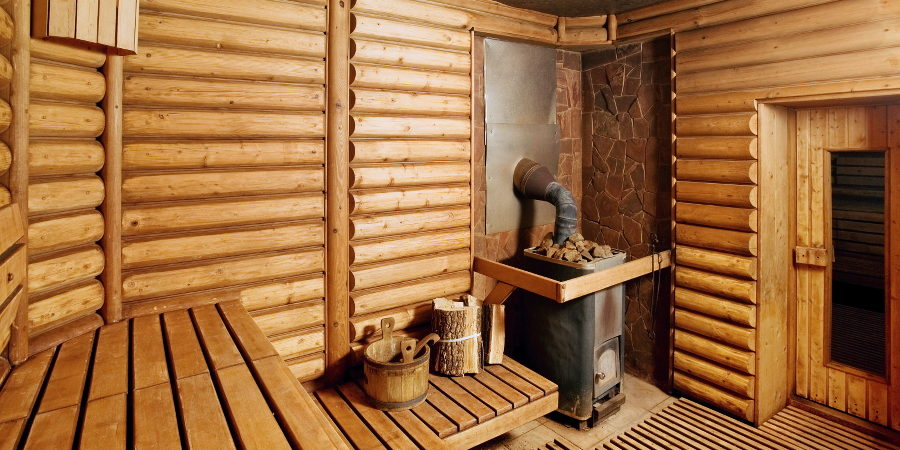 Какой материал лучше выбрать для отделки стен в бане - фото