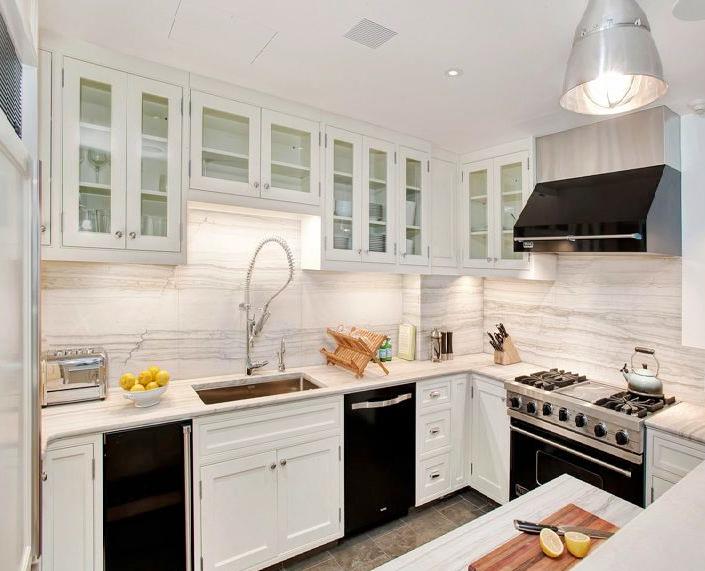 Застекленные фасады на кухне