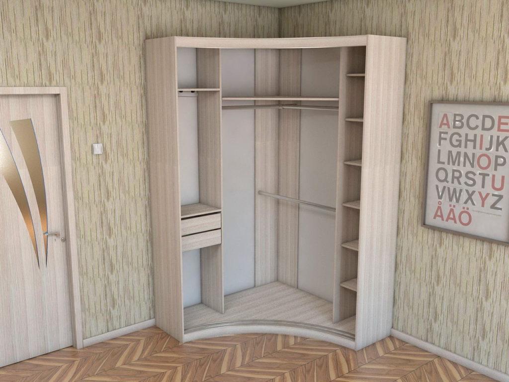 Угловой шкаф для малогабаритки