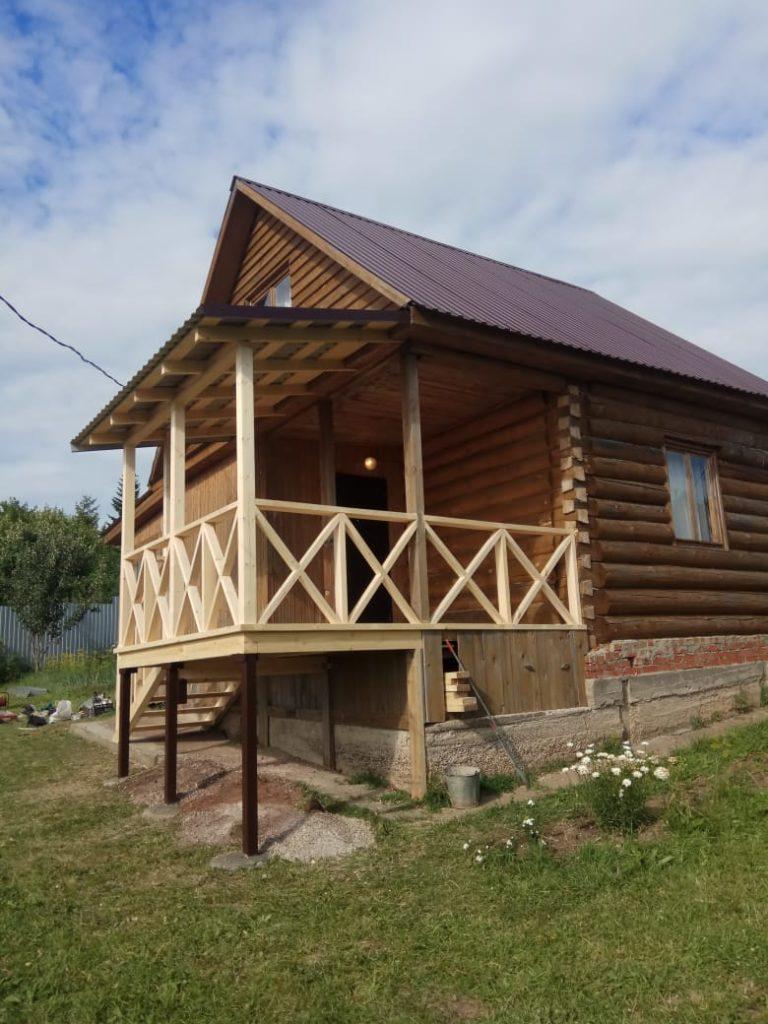 деревянная веранда Казань