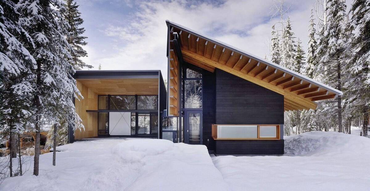 Дом в скандинавском стиле - фото